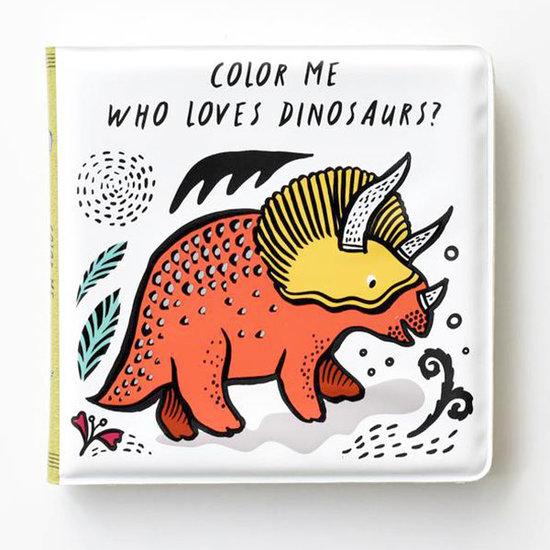 Wee Gallery Badboekje Color Me Dinosaurs - Wee Gallery