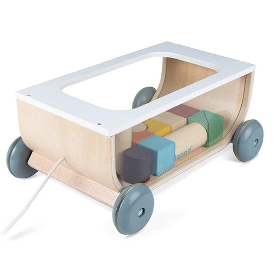 Janod speelgoed Blokkenkar Sweet Cocoon - Janod