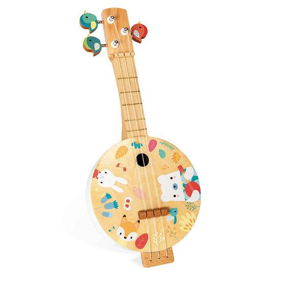 Janod speelgoed Banjo muziekinstrument - Janod