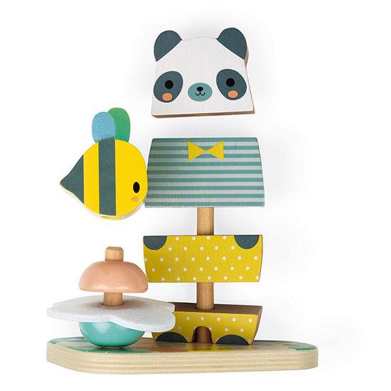 Janod speelgoed Janod stapeltoren beer