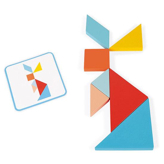 Janod speelgoed Tangram game Essentiel - Janod