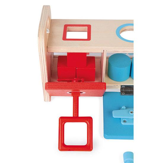 Janod speelgoed Sortierspiel mit Schlüssel Essentiel - Janod
