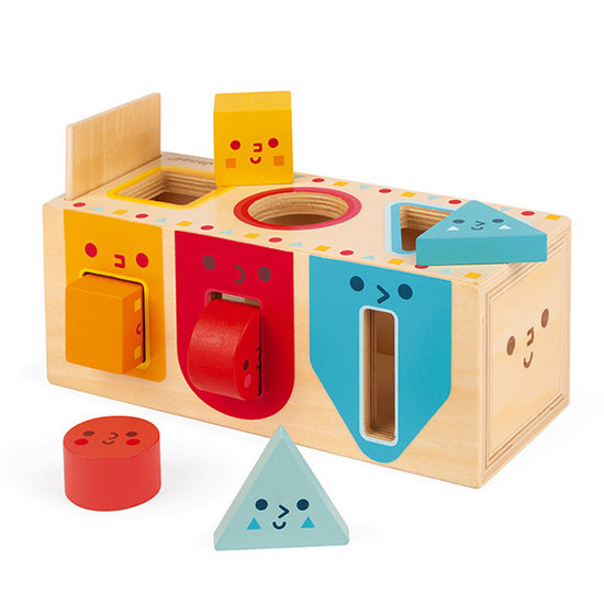 Janod speelgoed Janod vormenstoof Geomtrische vormen