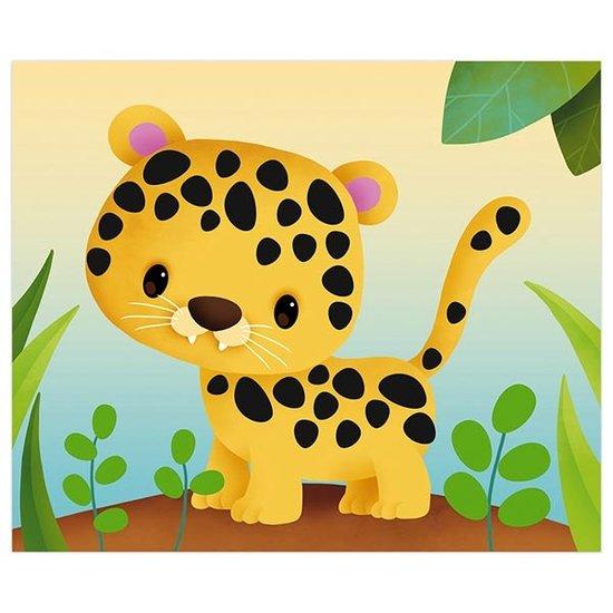 Janod speelgoed Janod knutselpakket dieren stickeren