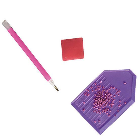 Janod speelgoed Janod knutselpakket strass pixel kunst