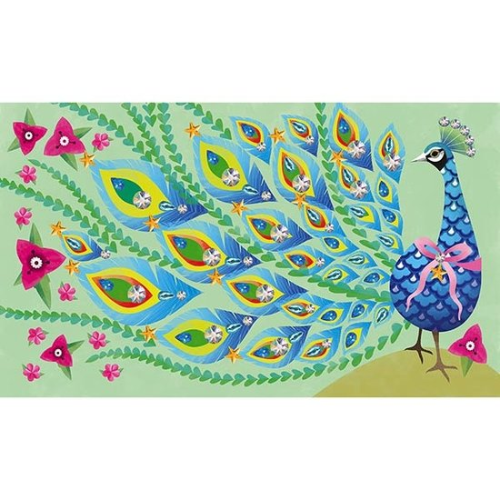 Janod speelgoed Janod craft set strass Beautiful bird
