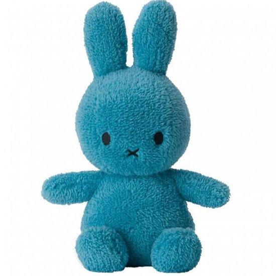 Nijntje - Miffy Nijntje knuffel teddy 33 cm - Ocean Blue