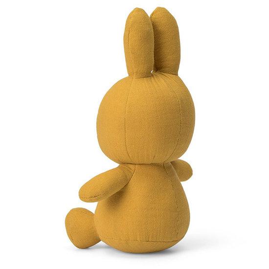 Nijntje - Miffy Nijntje knuffel mousseline 23 cm - Yellow