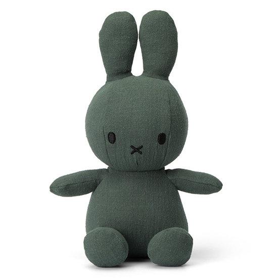 Nijntje - Miffy Nijntje knuffel mousseline 23 cm - Green
