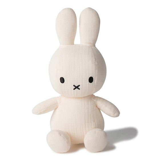 Nijntje - Miffy Miffy soft toy muslin 23 cm - Cream