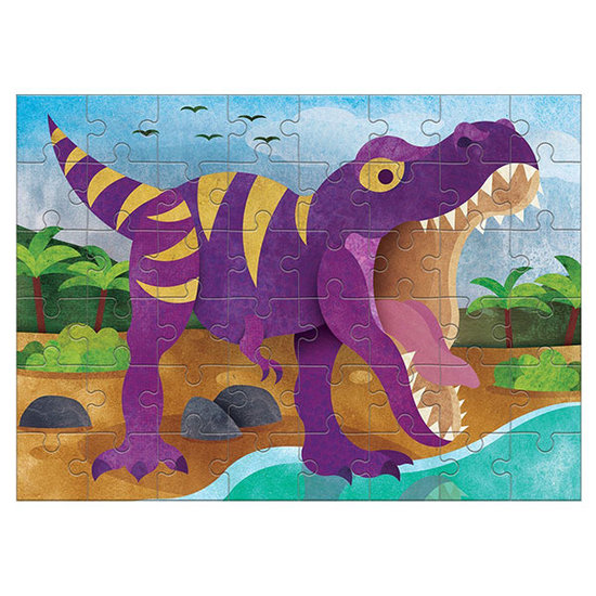 Mudpuppy Mudpuppy mini puzzle Tyrannosaurus Rex 48pieces