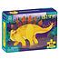 Mudpuppy Mudpuppy mini puzzel Stegosaurus 48st