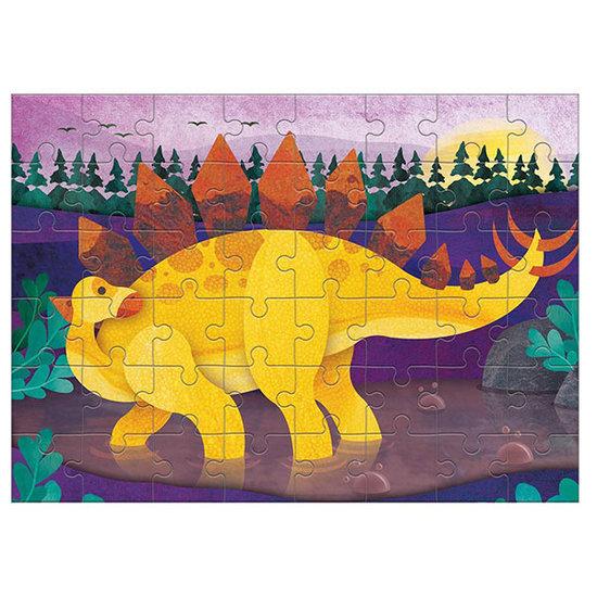 Mudpuppy Mudpuppy Mini Puzzle Stegosaurus 48-Teilig