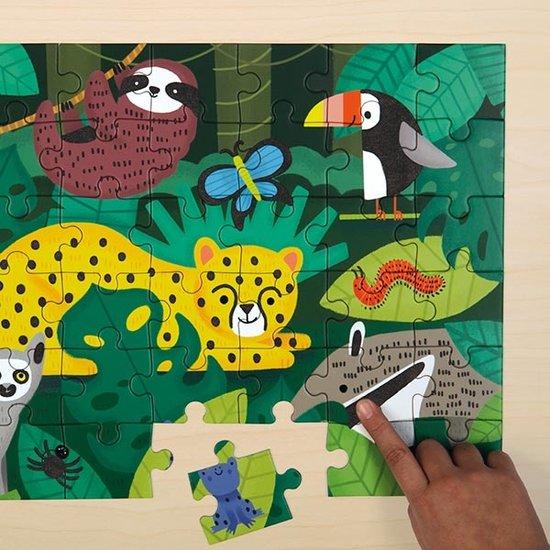 Mudpuppy Mudpuppy voelpuzzel Rainforest 42st