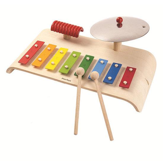 Plan Toys Musikinstrument - Musikset - Plan Toys +3 Jahren