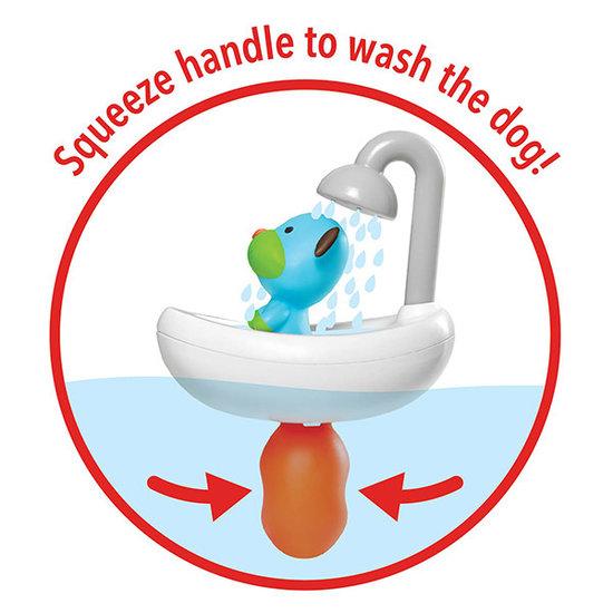 Skip Hop Skip Hop Zoo Squeeze & Shower Dog Badespielzeug
