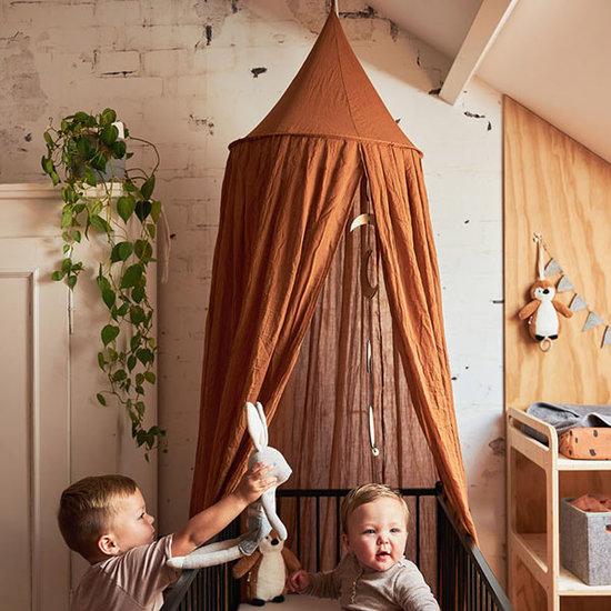 Jollein Jollein mosquito net vintage 245cm - Caramel
