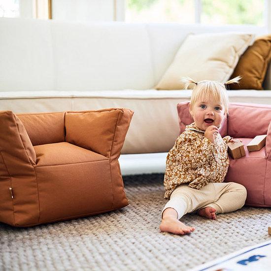 Jollein Jollein beanbag - kids sofa Caramel