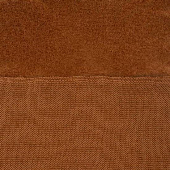 Jollein Jollein voetenzak Basic knit caramel