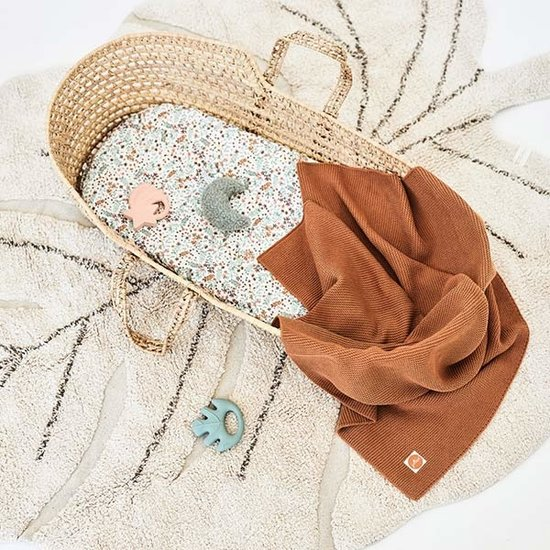 Jollein Jollein blanket 100x150cm Basic knit caramel
