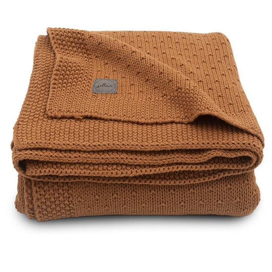 Jollein Jollein Decke 75x100cm Bliss knit caramel