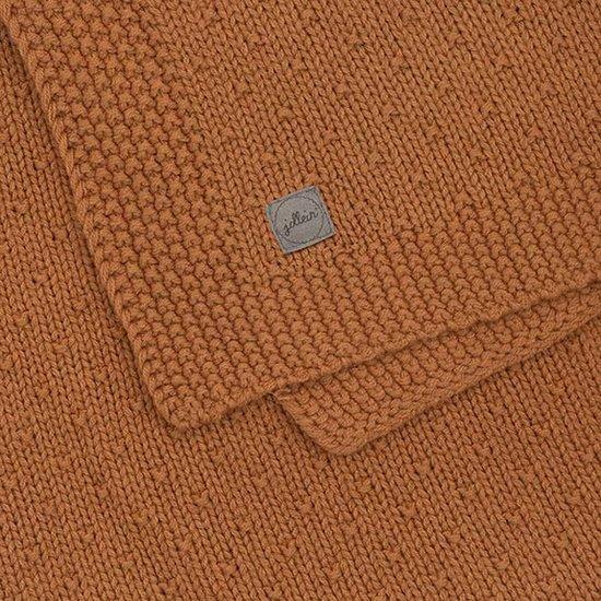 Jollein Jollein blanket 75x100cm Bliss knit caramel