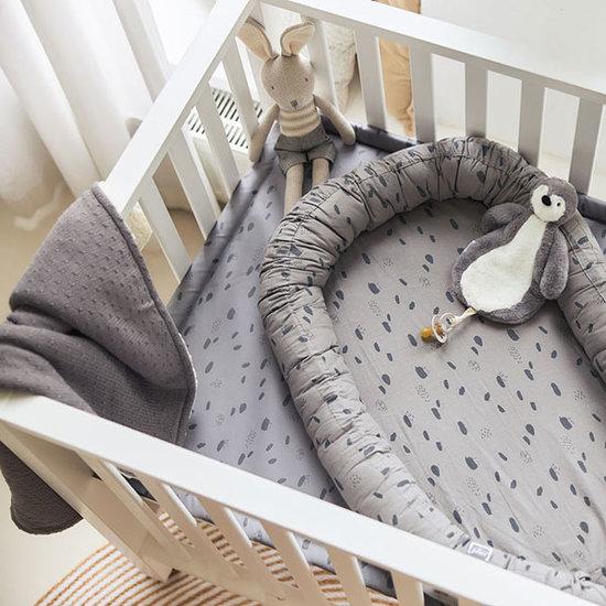 Jollein Jollein deken teddy 75x100 Bliss knit storm grey