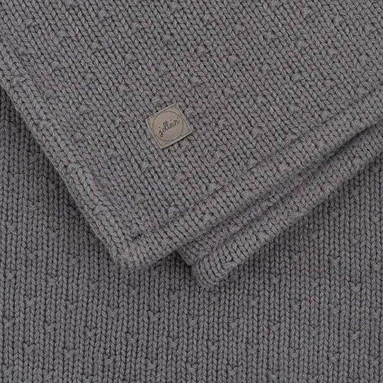 Jollein Jollein deken teddy 100x150 Bliss knit storm grey