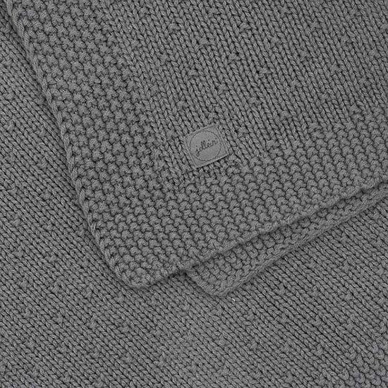 Jollein Jollein deken 100x150cm Bliss knit storm grey