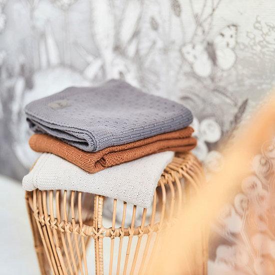 Jollein Jollein Decke 100x150cm Bliss knit storm grey