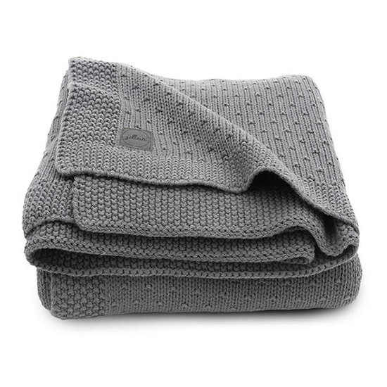 Jollein Jollein Decke 75x100cm Bliss knit storm grey