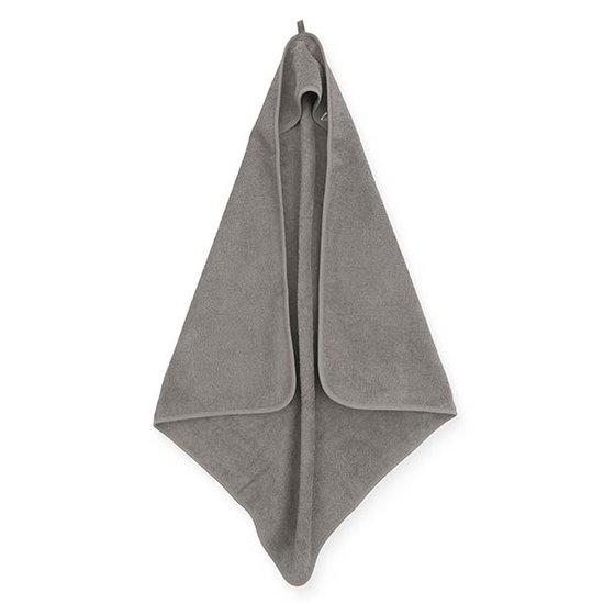 Jollein Jollein Kapuzenhandtuch Frottee 75x75cm Storm grey