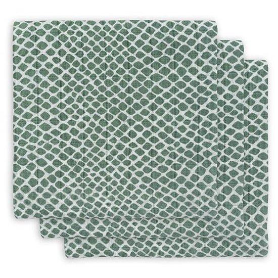 Jollein Jollein Mullwindel 70cm Snake ash green 3St