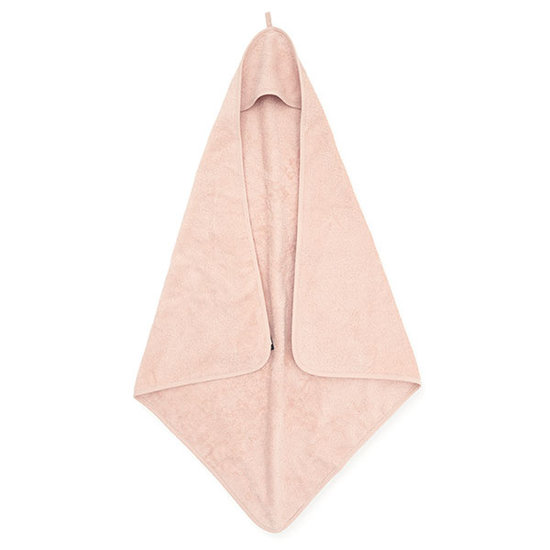 Jollein Jollein hooded towel terry 75x75cm Pale pink