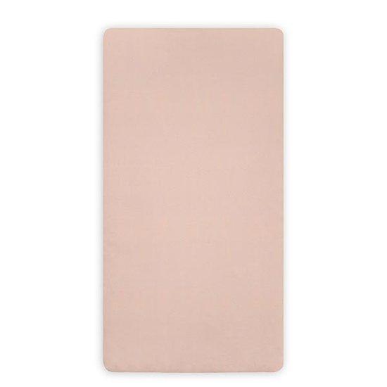 Jollein Jollein hoeslaken jersey 40x80cm Pale pink