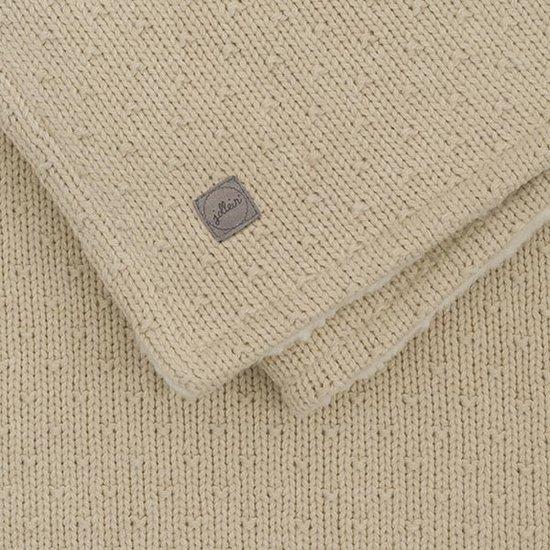 Jollein Jollein blanket teddy 75x100cm Bliss knit nougat
