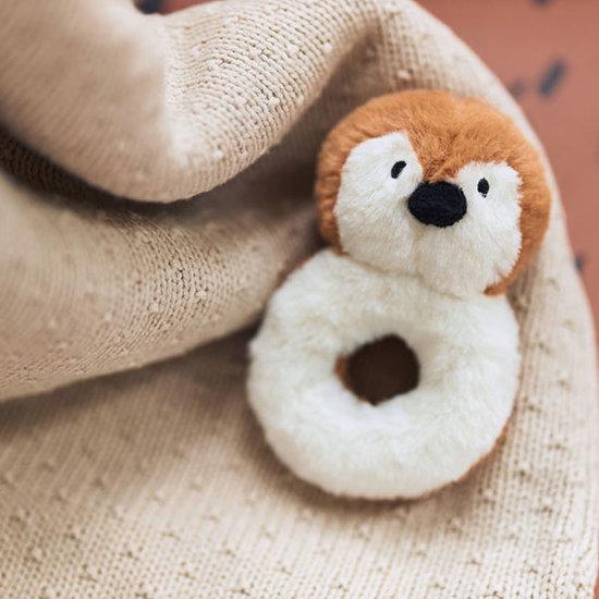 Jollein Jollein Decke Teddy 75x100cm Bliss knit nougat