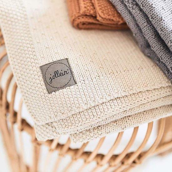 Jollein Jollein Decke 75x100cm Bliss knit nougat