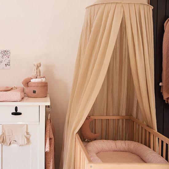 Jollein Jollein mosquito net vintage 245cm - Nougat