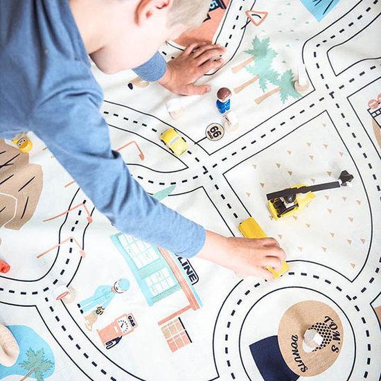 Play and Go Play and Go speelmat en opbergzak LA roadmap
