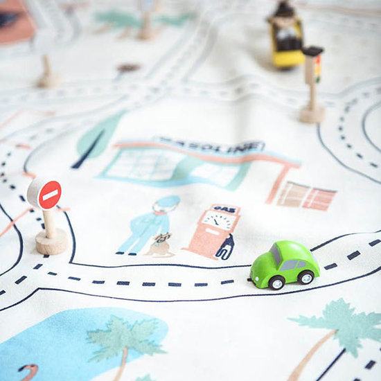 Play and Go Play and Go play mat-storage bag LA roadmap