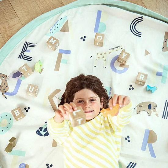 Play and Go Play and Go speelmat en opbergzak Animal alphabet