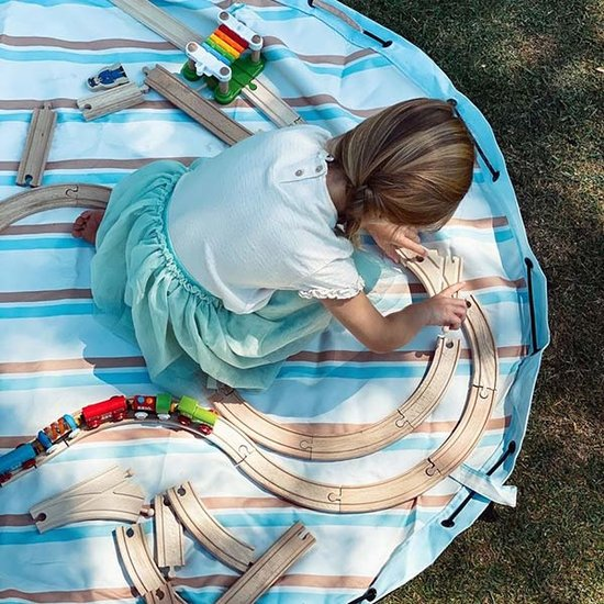 Play and Go Play and Go play mat - bag Outdoor Stripes