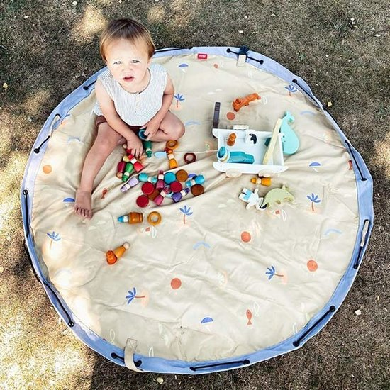 Play and Go Play and Go speelmat opbergzak Outdoor Sea