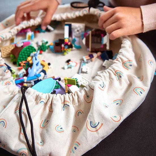 Play and Go Opbergzak - speelzak Mini Rainbow - Play and Go