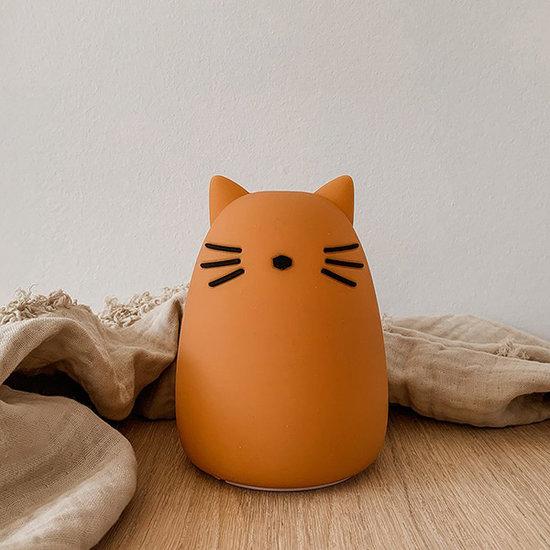 Liewood Nachtlampje Winston Cat mustard - Liewood