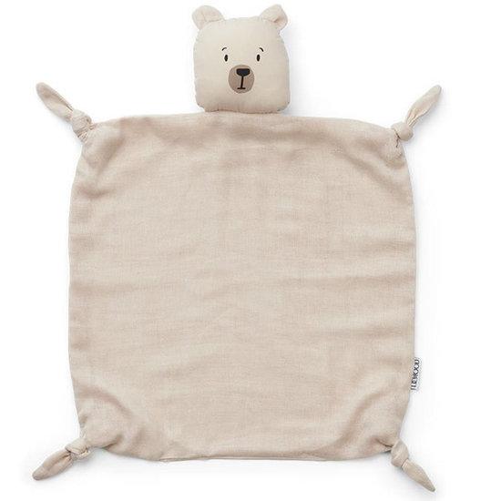 Liewood Knuffeldoekje Polar bear sandy - Liewood