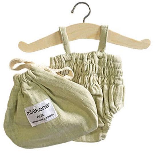 Minikane Doll clothes bloomer Alix Pistachio - Minikane