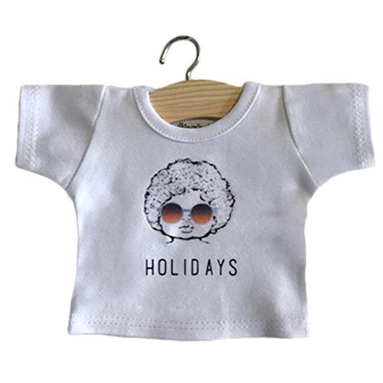 Minikane Poppenkleertjes t-shirt Holidays - Minikane
