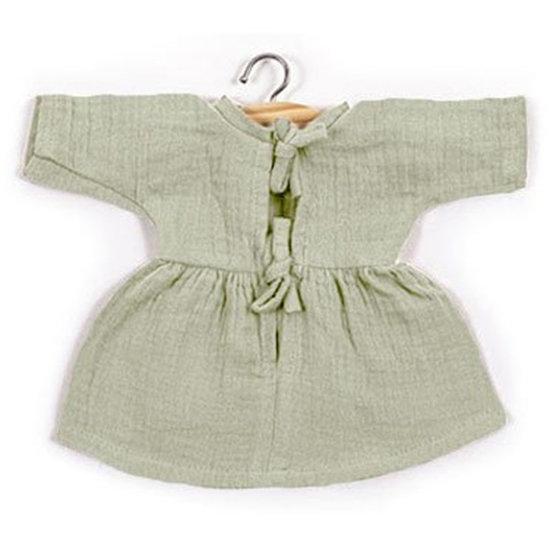 Minikane Poppenkleertjes jurk Faustine Pistachio - Minikane